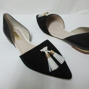 LOUISE ET CIE LEYNA D'ORSAY FLATS suede NEW 8